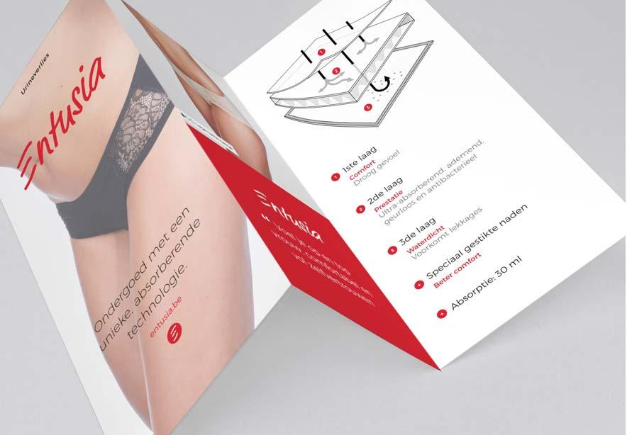 Web design services: print design Entusia